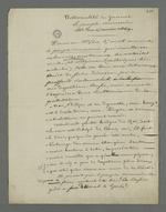 """Note de Pierre Charnier concernant la """"nationalité"""" du journal"""