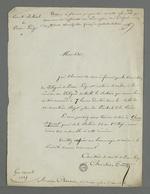 Lettre de Chevalier Tivet, secrétaire du comité électoral de Pierre-Scize, adressée à Pierre Charnier dans laquelle il l'invite à se rendre à la réunion de la commission des délégués de Pierre-Scize.