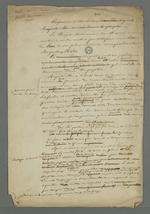 Notes de Pierre Charnier sur le numéro 377, daté du