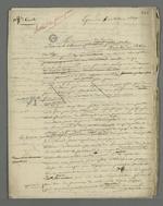 Lettre de Pierre Charnier adressée à Théodore de Seynes dans laquelle il lui fait part des conséquences de l'insurrection de juin 1849 et lui demande conseil.