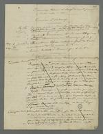 Liste des témoins à charge et à décharge dans l'affaire Curt, inculpé après l'insurrection de juin, affaire dans laquelle Pierre Charnier est chargé de la défense.