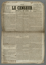 Première page de l'exemplaire du numéro 4643 daté du