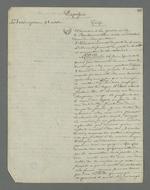 Notes issues du quatrième interrogatoire de Depassio concernant la journée du