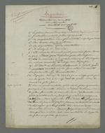 Liste et développement des circonstances de nullité dans l'affaire Depassio, accusé d'avoir participé au comité révolutionnaire occupant la mairie de la Croix-Rousse durant l'insurrection du