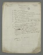 Listes des circonstances atténuantes dans l'affaire Depassio, accusé d'avoir participé au comité révolutionnaire occupant la mairie de la Croix-Rousse durant l'insurrection du