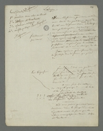 Brouillon de plaidoirie rédigée par Pierre Charnier, en vue de l'appel à la condamnation de Laloge père, condamné en première instance pour avoir participé au dépavage et au barricadage durant l'insurrection de juin 1849.