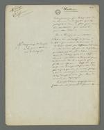 Notes de Pierre Charnier concernant un point précis de l'accusation de Laloge père, en vue de l'appel à sa condamnation, condamné en première instance pour avoir participé au dépavage et au barricadage durant l'insurrection de juin 1849.