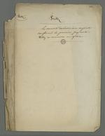 Note de Pierre Charnier dans laquelle il affirme que le conseil de révision ayant confirmé le premier jugement, Fritz a effectué un recours en grâce.