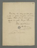 Deux lettres successives adressées à Pierre Charnier par Lançon, avocat de Virginie Chabre, ancienne apprentie à l'atelier communauté Providence Jésus-Marie de Fourvière, dans l'affaire qui l'oppose à ses anciennes employeuses.