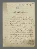 Lettre de Pierre Brucelle, carabinier condamné à mort lors du conseil de guerre du