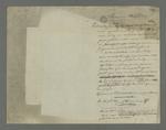 Lettre de Pierre Charnier adressée à Brucelle, carabinier condamné à mort lors du conseil de guerre du