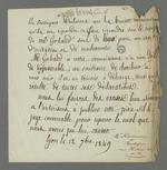 Déclaration de Descombres et Boulogne qui reconnaissent leur responsabilité dans l'origine des rumeurs selon lesquelles le médecin Gerbeaud aurait accusé Pierre Charnier et l'avocat Parelles d'avoir participé à l'insurrection de juin 1849.
