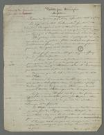 Notes de Pierre Charnier au sujet de l'extrait d'un article du journal
