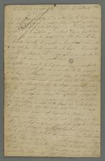 """Manuscrit anonyme intitulé par Pierre Charnier : """"Politique, économie sociale d'un incompris""""."""