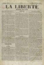 La Liberté : journal de Lyon, N°1