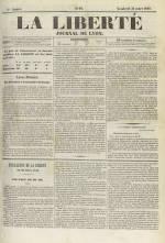 La Liberté : journal de Lyon, N°10