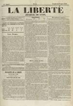 La Liberté : journal de Lyon, N°3