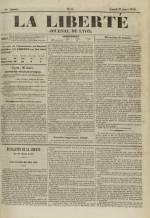 La Liberté : journal de Lyon, N°6