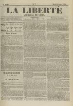 La Liberté : journal de Lyon, N°7