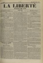 La Liberté : journal de Lyon, N°78