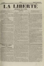 La Liberté : journal de Lyon, N°84