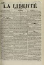 La Liberté : journal de Lyon, N°81