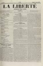 La Liberté : journal de Lyon, N°86