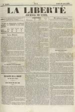 La Liberté : journal de Lyon, N°9