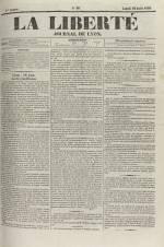 La Liberté : journal de Lyon, N°90