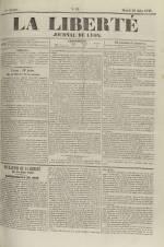 La Liberté : journal de Lyon, N°91