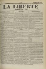 La Liberté : journal de Lyon, N°95