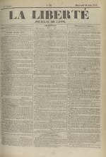 La Liberté : journal de Lyon, N°99