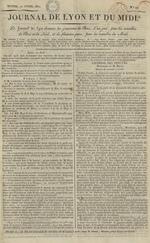 Le Journal de Lyon et du Midi, N°12