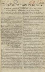 Le Journal de Lyon et du Midi, N°13