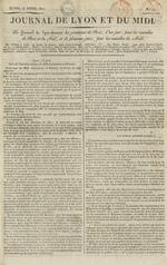 Le Journal de Lyon et du Midi, N°17