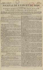 Le Journal de Lyon et du Midi, N°19