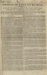Le Journal de Lyon et du Midi, N°2