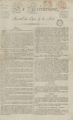 Le Journal de Lyon et du Midi, N°296