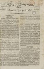 Le Journal de Lyon et du Midi, N°299