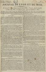 Le Journal de Lyon et du Midi, N°3