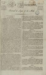 Le Journal de Lyon et du Midi, N°310