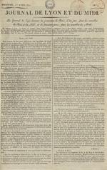 Le Journal de Lyon et du Midi, N°4