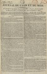 Le Journal de Lyon et du Midi, N°5