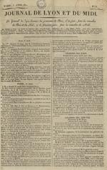 Le Journal de Lyon et du Midi, N°6