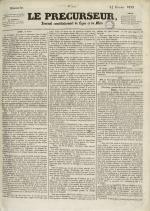 Le Précurseur, N°1917