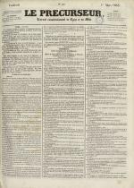 Le Précurseur, N°1921