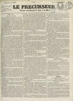 Le Précurseur, N°1926