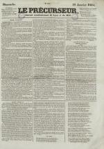 Le Précurseur, N°2193