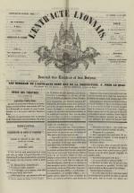 L'Entr'acte lyonnais,  N°937, pp. 1