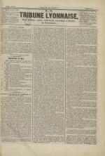 La Tribune lyonnaise, N°2